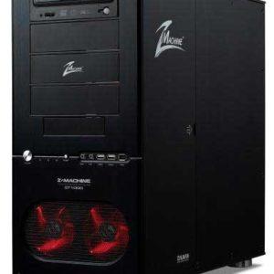 Zalman GT1000 Windowed Side Panel Anodized Aluminum Black Gaming Case