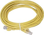 iSonic PC-HUB CAT5e 5m Yellow Patch Cable SICAB-UTP-5
