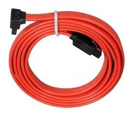 Lian-li SATA-LT90R Red 90cm L-shape Sata Cable FRCA-SATALT90-1R