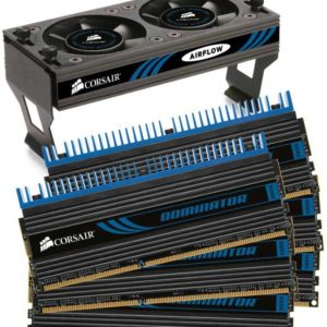 Corsair Dominator with DHX technology with Airflow II Fan 24GB(6x4GB) DDR3-1333 Desktop Memory Kit FRME-C4G3D13F9x6