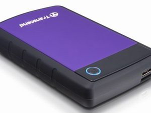 "Transcend StoreJet 25H3 Series USB 3.0 2.5"" External HDD RETS1TSJ25H3P"