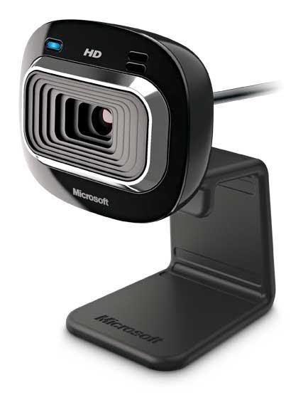 Microsoft Lifecam HD-3000 Truecolor Technology 720p HD Webcam