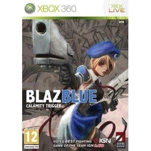 Used Xbox 360 Blaz Blue Calamity Trigger