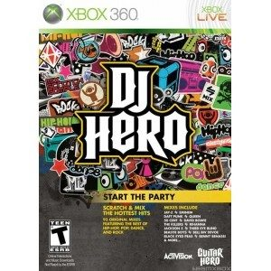 Used Xbox 360 DJ Hero