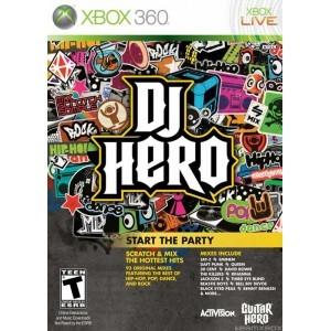 Used Xbox 360 DJ Hero