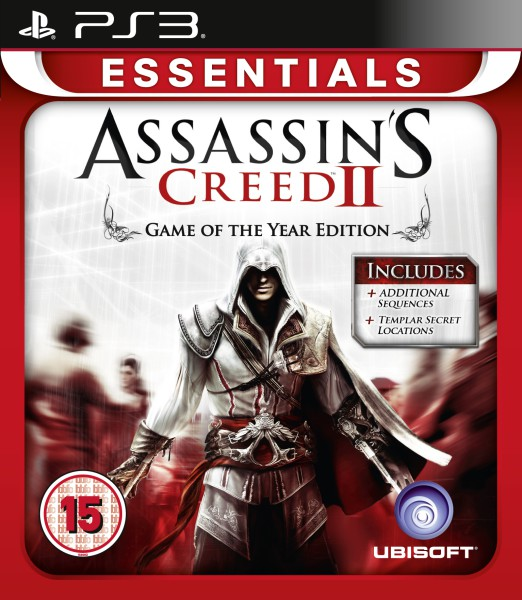 PS3 Assassins Creed 2 Platinum ME3307217934409