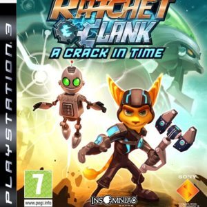 Ps3 Ratchet & Clank: A Crack In Time Pre Owned