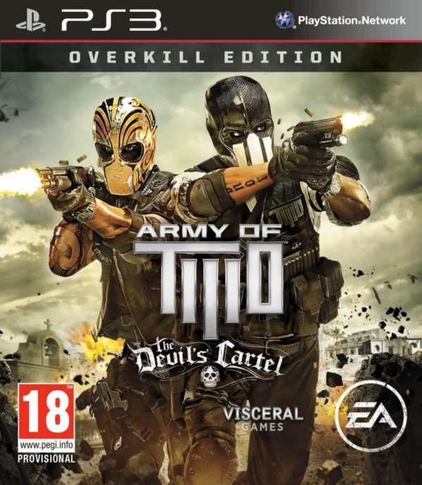 Ps3 Army Of Two The Devils Cartel Overkill Edition Pre Owned