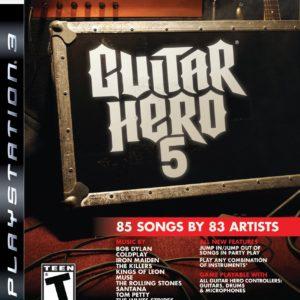 Ps3 Guitar Hero 5 Pre Owned