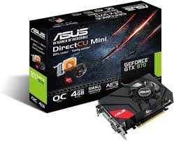 ASUS GEFORCE GTX 970 DC Mini small form factor gaming graphics card