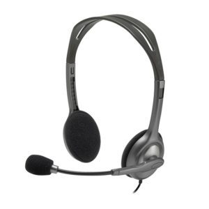 Logitech H111 stereo headset with mic