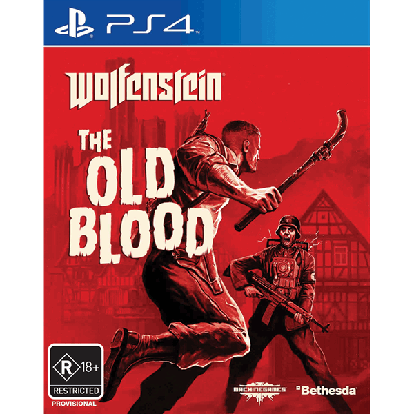 Ps4 Wolfenstein The Old Blood Pre-owned