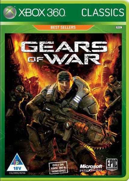 Used xbox 360 Gears of war