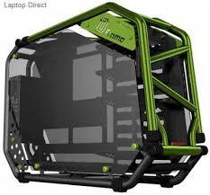 Inwin Ca03 D-frame 2.0 1065w Green E-atx Open Frame Desktop Chassis