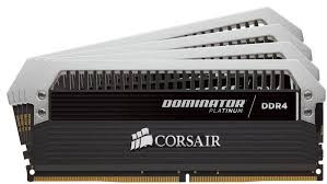 Corsair Cmd64gx4m4b3466c16 Dominator Platinum + 2x Fan